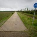 einde van het grenspad